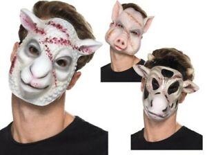 Adultos Cerdo Máscara De Plástico-Animales Granja Porcina Disfraz Accesorio