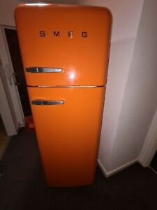 Smeg fridge freezer Orange