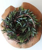 Oliven Kranz Türkranz Dekokranz 27 cm Kunstblume