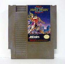 DOUBLE DRAGON II: THE REVENGE Nintendo NES Game CLEANED & TESTED 1990