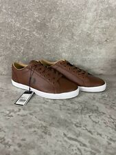 Fred Perry B3058 Authentic Shoes Baseline Leather Tan