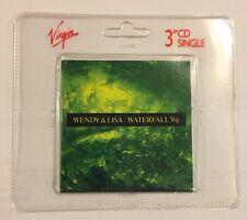 "WENDY & LISA WATERFALL 89 4 TRACK 3"" CD SINGLE FREE P&P PRINCE RELATED"