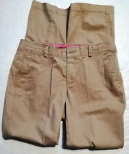Dockers Tan Cotton/Spandex Casual Pants Sz 6/31 Inseam  Worn Once