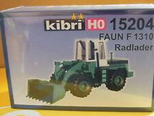 Kibri 15204 HO Radlader Faun F 1310 Schwarz Bau