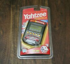 Factory Sealed - Yahtzee Electronic Hand Held Game by Hasbro - Needs Battery