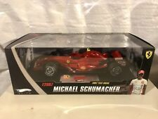 Hotwheels Ferrari Elite F1 Test Drive RED NIB 1/18 Mattel RARE N5423 Schumacher