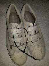 Womens girls Michael Kors snake inspired sneakers walking shoes size 9 athletic