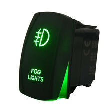 Laser Rocker Switch Backlit Car Running Daytime Fog Driving Light Bar On-Off 20A