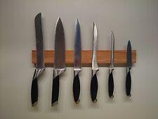 Magnet, Messerleiste Messerhalter Messerblock Messer Leiste Massivholz Kernbuche