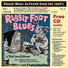 John Tefteller's Blues Images Calendar 2011 + FREE CD Paramount Race Record Art