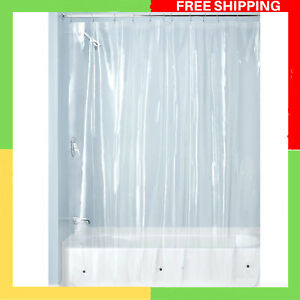 Curtain For Shower Made of Mould-Free PEVA Clear Transparent Curtain 183X 183cm