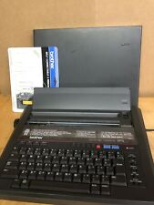 Brother Electronic Typewriter EP5 With AC Adaptor And Cover One Tape