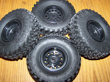 Axial SCX10 II 2017 Jeep Wrangler Front Rear 1.9 Trail Grappler Tires 12mm Wheel