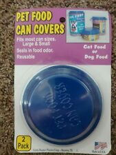 Pet Food Can Covers, 2 Pack, Dog, Cat, Pets, People Food, Made In The Usa