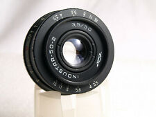 Industar 50-2 3,5/50mm Objektiv mit M42 Praktica, Zenit, Pent Anschluss, wie neu