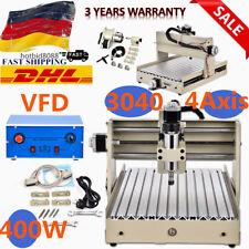 4 ASSI 3040T CNC Router Fresa Meccaniche Engraver Foratura macchina 400W DHL IT