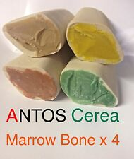 Antos Cerea Marrow Bone x 4pcs ~  4 Flavour Mix ~ 100% Vegetable Dog Chews