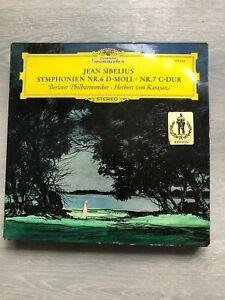Herbert von Karajan-Jean Sibelius vinyl LP