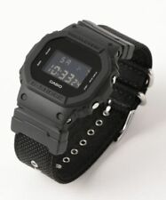 Casio G-Shock models Black Cordura®* Nylon Strap Watch DW5600BBN-1D