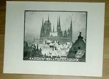 Danzig Marienkirche: großf. Ansicht Druck 1920