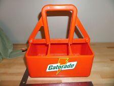 Gatorade Water Squeeze Bottle Carrier Case Vintage Lightning Bolt 1980  ((#574))