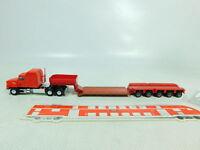 Bt409-0, 5 # Herpa H0 / 1:87 US Usa-Truck Mack con Schwerlast-Anhänger, Muy Buen