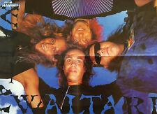 █▬█ Ⓞ ▀█▀    Ⓗⓞⓣ   Waltari  Ⓗⓞⓣ  Iron Maiden  Ⓗⓞⓣ  1 Poster 40 cm x 55 cm  Ⓗⓞⓣ