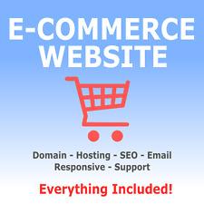 Conception de site web-boutique en ligne-e-commerce shop-Domaine et hébergement ...