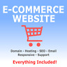 Website Design - Online Store -  E-commerce shop - Domain & Hosting Included UK