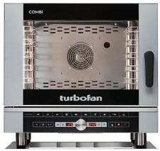 Turbofan EC40D5 Electric Combi Oven 5x1/1 GN Pan or 5 x 600x400mm Tray Capacity