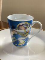 Disney Pixar Toy Story Buzz Lightyear At Your Service Ceramic Coffee Mug/Cup NEW