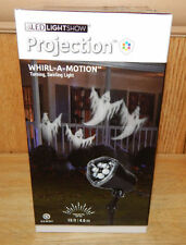 Whirl-a-Motion Ghost Light Projection Light Show LED Lightshow Halloween Decor