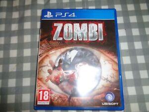 ZOMBI ubisoft zombies game Rare UK PAL Sony Playstation 4 PS4