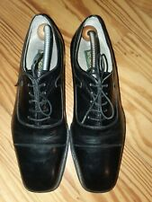 Alberto Mussotti Herrenschuhe  Business Schuhe Gr.44 UK 10  Schwarz