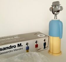 Alessi - Alessandro Mendini CORKSCREW BOTTLE OPENER - Italy-NEW IN BOX