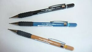 Pentel 120 A3 Mechanical Pencil Rubber Grip 0.3mm 0.5mm 0.7mm 0.9mm combinations