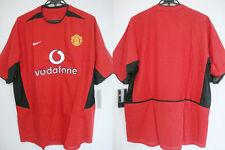 2002-2003 Manchester United Manu Manutd Home Jersey Shirt Vodafone Nike L BNWT