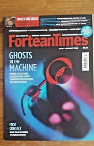 FORTEAN TIMES - Feb 2018 Issue # 363 - Ghosts In The Machine - UFO - Skinwalker