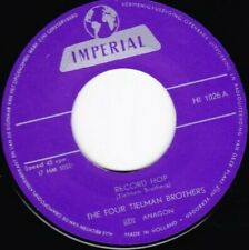 HEAR Rockabilly RE The Four Tielman Bros Record Hop Imperial 45  Desperate R'N'R