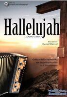 Steirische Harmonika Noten : Hallelujah (Cohen) mit CD - Griffschrift