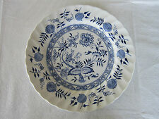 Old Vienna Ironstone Blue, Woods & Sons Dinner Plate(s)
