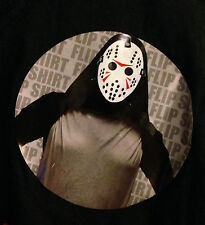 Jason Friday The 13th Ask Me About My Halloween Costume Flip - T Shirt L - NWT