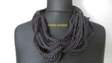 Punkte Damen-Schals aus Baumwollmischung