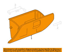 GM OEM-Glove Compartment Box Assy 23280482