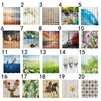 Shower Curtain Waterproof Polyester Colorful Home Bathroom Home Decor