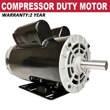 5 Hp Spl 1 Phase 3450rpm Electric Air Compressor Duty Motor 56 Frame 58 Shaft