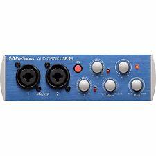 PreSonus AudioBox USB 96 2x2 USB Home Studio Audio Recording Interface System