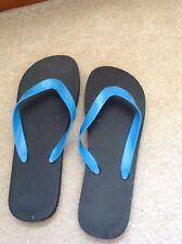 BNWOT Blue Flip Flops Size 6