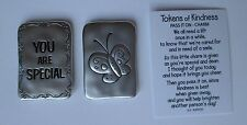 d  You are special butterfly TOKENS OF KINDNESS Pocket token charm Ganz person