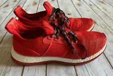 ADIDAS PURE BOOST ZG RUNNING SHOES SNEAKERS RED BA8453 MENS SIZE 13